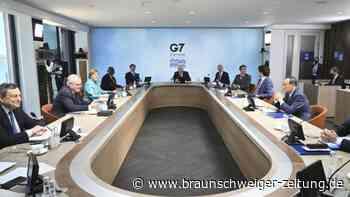 G7 streben härteren China-Kurs an