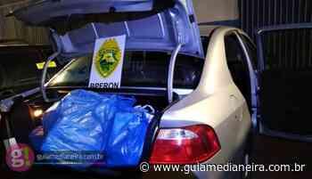 BPFRON apreende diversas mercadorias contrabandeadas em Matelândia e Céu Azul - Guia Medianeira