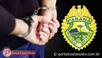Medianeira: Polícia Militar cumpre mandado de prisão no Bairro Parque Independência - Portal Costa Oeste