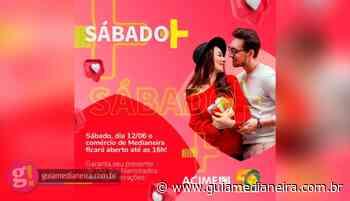 ACIME divulga Sábado Mais de Dia dos Namorados - Guia Medianeira