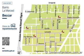 San Isidro lanzó un ambicioso plan de pavimentación en Beccar - Zona Norte Visión