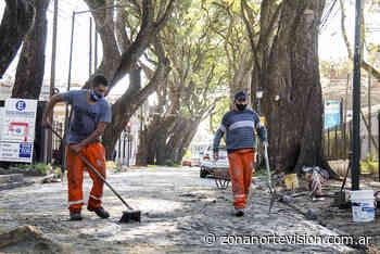 San Isidro: realizan un trabajo artesanal para preservar los adoquines centenarios - Zona Norte Visión