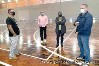 Fesporte faz visita técnica para os Jesc - Jornal de Pomerode