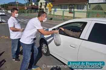 Pedágio da Apae arrecada R$ 20.844,70 - Jornal de Pomerode