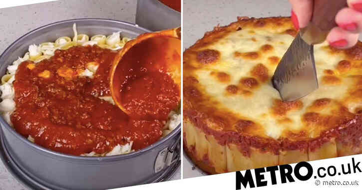 Honeycomb pasta cake is set to be your new go-to dish