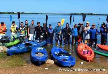 Em Santa Maria da Boa Vista, George Duarte coordena ação de limpeza do Rio São Francisco - Blog do Didi Galvão
