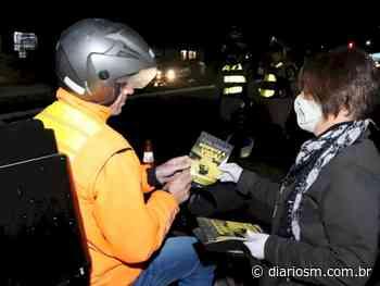 Blitzes educativas abordam motociclistas em Santa Maria - Geral - Diário de Santa Maria