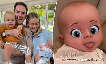 Nine News star Sylvia Jeffreys shares adorable video of ten-week-old baby son Henry