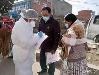 Gobierno desplazará brigadas médicas en El Alto para monitorear resfríos - eju.tv