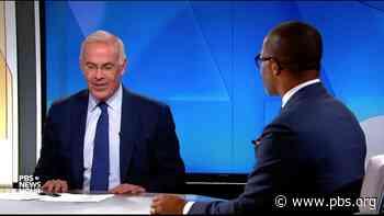 Brooks and Capehart on Biden at the G-7, the DOJ under Trump - PBS NewsHour