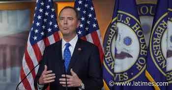 Justice Dept. to investigate secret subpoena for records of Schiff - Los Angeles Times