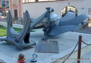 Carmagnola, restaurato il monumento ai caduti nelle guerre sul mare - Il carmagnolese