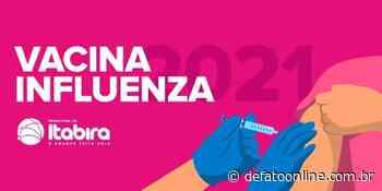 Saiba quem pode se vacinar contra a gripe em Itabira na 3ª fase da campanha - DeFato Online