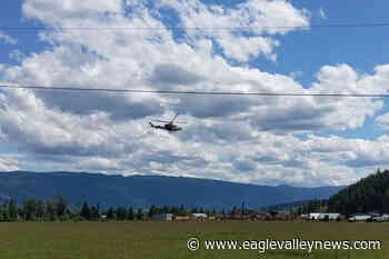 Crash north of Enderby knocks out power, slows Highway 97A traffic – Sicamous Eagle Valley News - Eagle Valley News