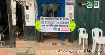 A extinción de dominio bienes por $1.800 millones en El Retiro - El Colombiano