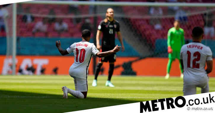 England vs Croatia: Fans boo players taking the knee but drowned out by applause at Wembley