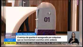 Robôs a trabalhar em hotel do Porto - RTP