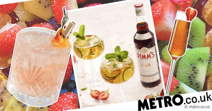 How to make a classic Pimm's and drinks with a twist