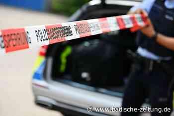 Auto mit zwei Insassen überschlägt sich bei Lahr-Sulz - Polizei Ortenau - Badische Zeitung