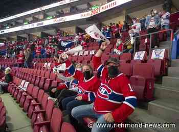 Quebec health officials weigh Montreal Canadiens' request for more fans - Richmond News