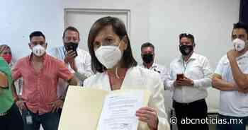 Cristina Díaz recibe constancia por mayoría de votos en Guadalupe - ABC Noticias MX