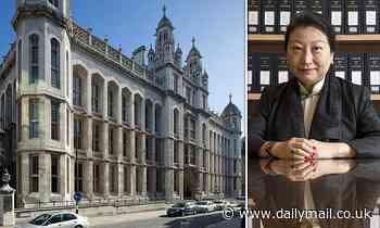 King's College London accused of 'woke hypocrisy' for honouring China's hardline justice secretary