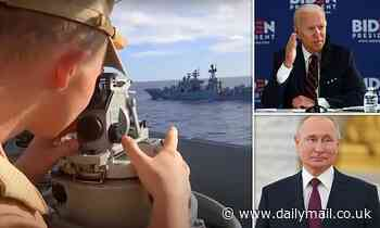Putin's show of strength to Biden: Russian forces hunt 'enemy' submarine in Pacific Ocean drills