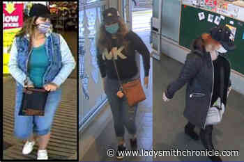 West Shore RCMP searching for travelling grocery store thieves – Ladysmith Chronicle - Ladysmith Chronicle