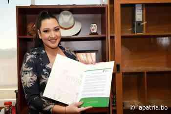 Exmiss Bolivia es destituida como subgobernadora de San Ignacio de Velasco por Camacho - Periódico La Patria (Oruro - Bolivia)