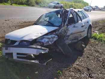 Acidente causa morte de dois jovens na BR 282, em Nova Erechim - WH3