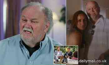 Thomas Markle claims Meghan and Harry are treating like an axe murdererin 60 Minutes interview