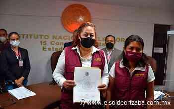 Recibe Corina Villegas constancia como diputada federal electa - El Sol de Orizaba
