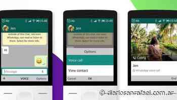 WhatsApp ya está disponible para «smartphones» básicos - Diario San Rafael