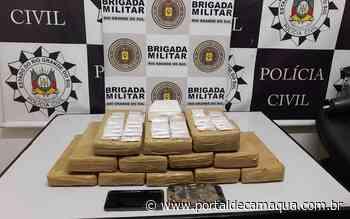 Policiais Militares e Polícia Civil apreendem grande quantidade de drogas, em Garibaldi - Portal de Camaquã