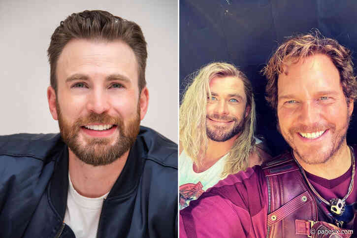 Chris Evans turns 40, gets roasted by Chris Hemsworth and Chris Pratt - Page Six