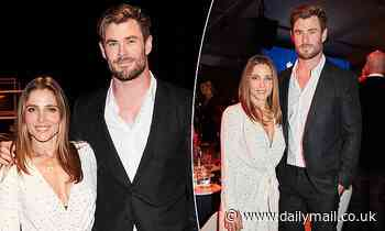 Claims that Chris Hemsworth and Elsa Pataky failed to bid during charity auction slammed as 'false' - Daily Mail