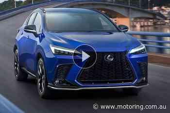Video: New Lexus NX in detail