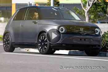 Honda e 2021 Video Review