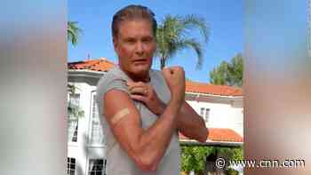 David Hasselhoff makes PSA video urging Germans to get vaccinated - CNN