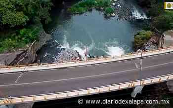 Se construyó el puente de Río Grande en Santiago Tuxtla: Gobernador - Diario de Xalapa