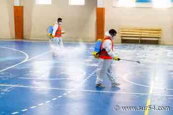 Río Grande: Continúa la tarea de desinfección y sanitización de espacios deportivos de la provincia - Sur54