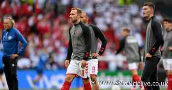 Christian Eriksen had a cardiac arrest during Euro 2020 match, officials confirm