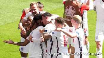 Wembley jubelt: England siegt zum EM-Start gegen Kroatien