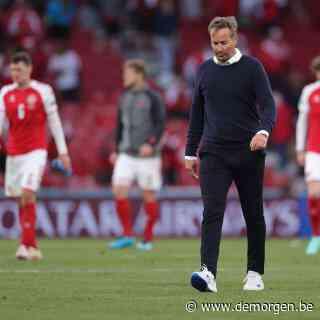 Deense bondscoach geeft toe: 'Het was fout om te spelen. Christian was even dood, we wisten niet of we vriend hadden verloren'