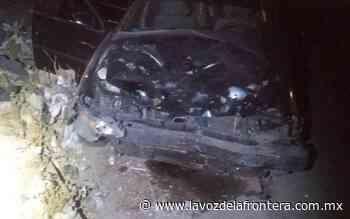 Embisten a motociclista en Villa Las Lomas; presuntos responsable se dio a la fuga - La Voz de la Frontera