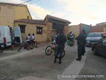 "Dani Rovira ""aparca"" su bicicleta en Granja de Moreruela - Zamora News"