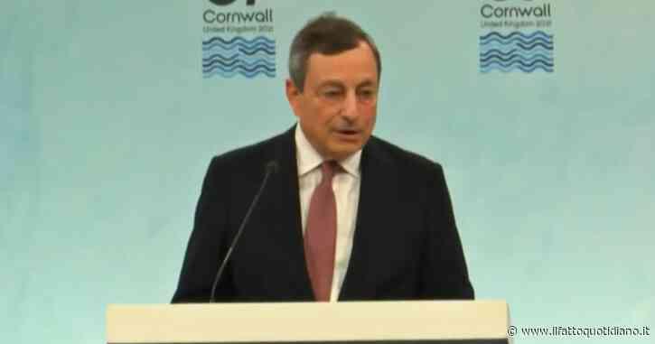 """Vaccino Covid, Draghi: """"Anche l'azienda Moderna pronta a produrre in Italia"""""""