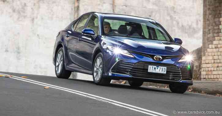 2021 Toyota Camry Ascent review