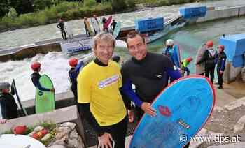Snowboard-Beau probierte sich auf Ebenseer Flusswelle - Tips - Total Regional