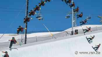 Snowboard-Weltrekord: Guseli springt 7,3 m aus der Superpipe - RAN